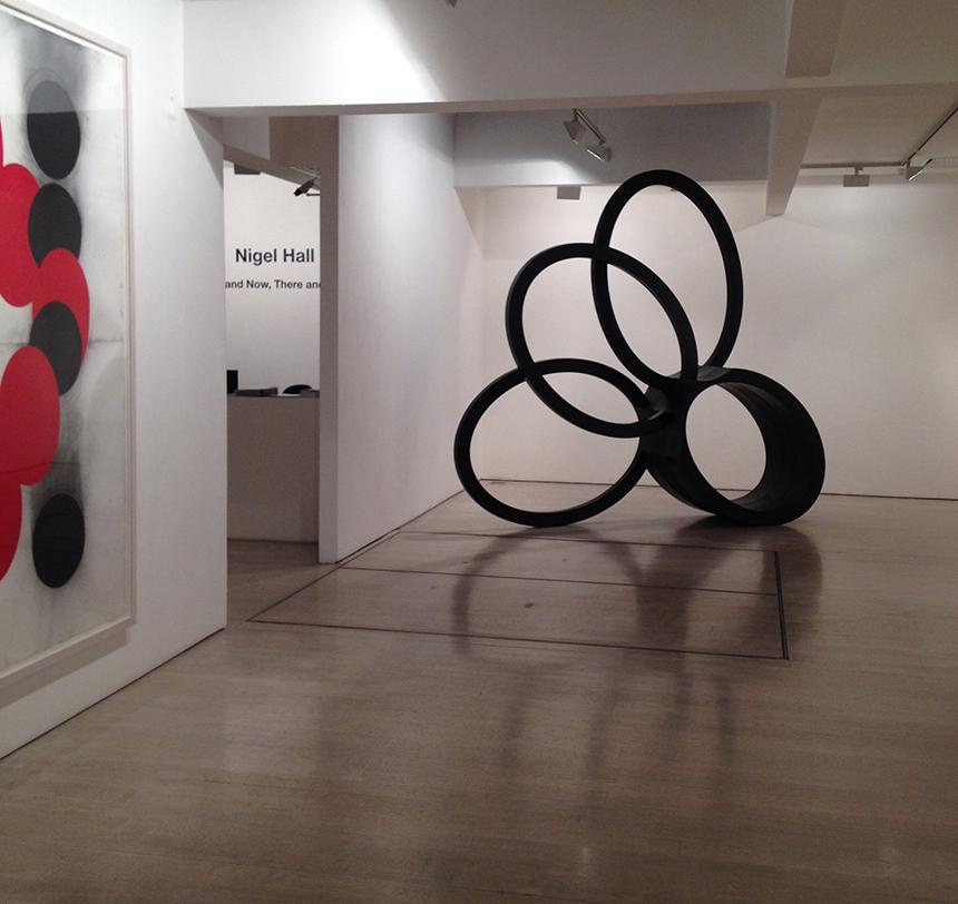 Nigelo Hallo ekspozicijos fragmentas. Autoriaus nuotrauka