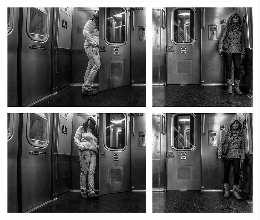 """Vytenis Jankūnas. """"J 2 Manhattan #027"""", 2015"""