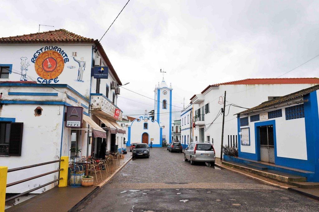 Santa Klaros miestelio gatvė. Nuotraukos iš asmeninio archyvo