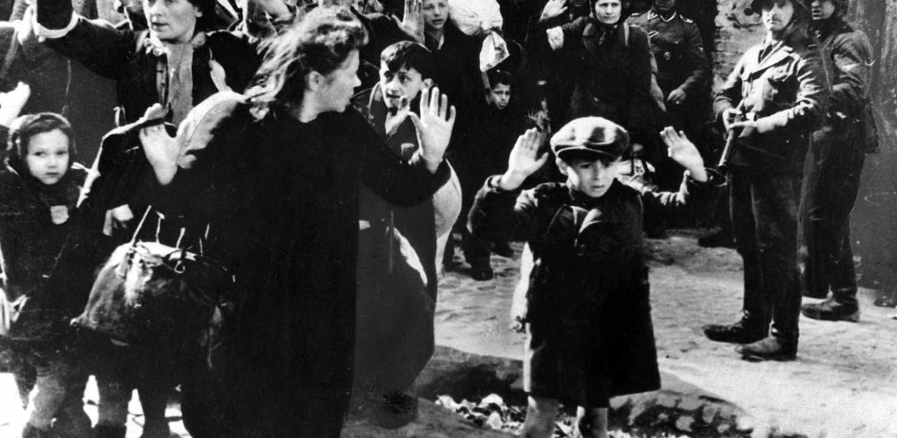 Nuotrauka iš Jürgeno Stroopo raporto apie Varšuvos geto sukilimą