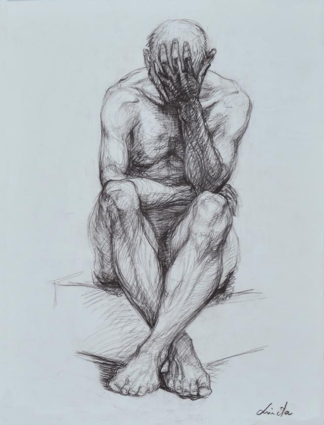 Liudos Stankevičienės piešinys