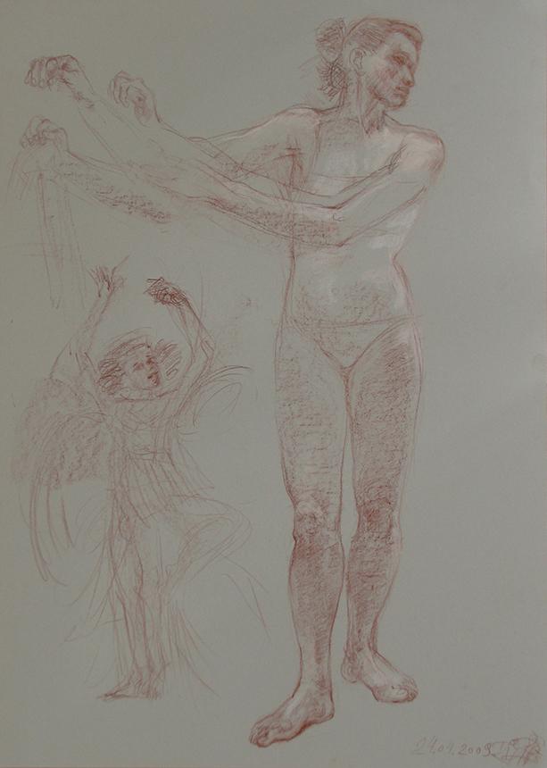 Rimos Gaižauskaitės piešiniai