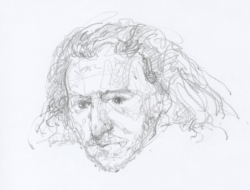 Arturo Aliuko piešinys