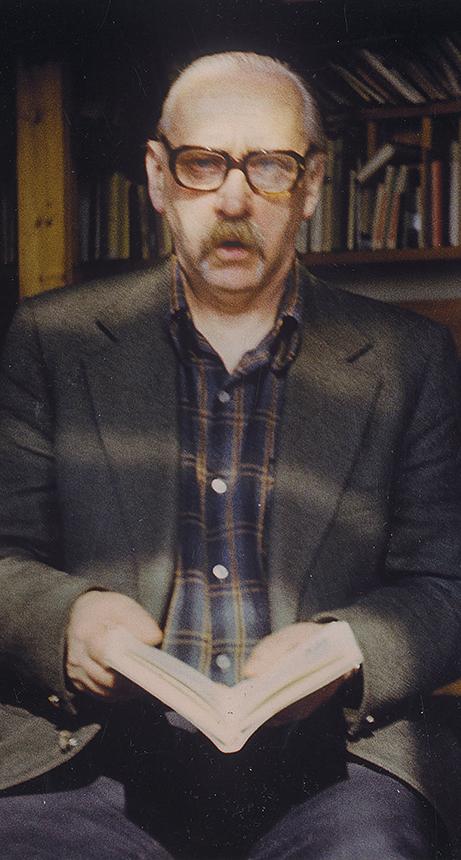 A. J. Greimas. Nuotrauka iš Aloyzo Stasiulevičiaus asmeninio archyvo