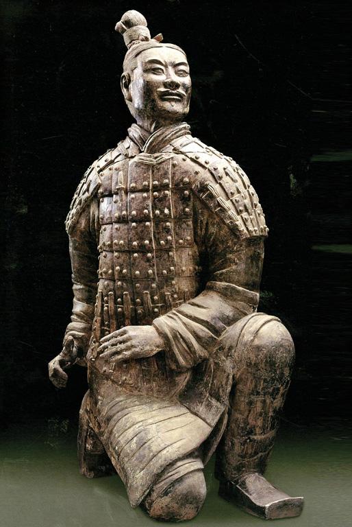 Klupintis lankininkas. 221–206 m. pr. Kr.