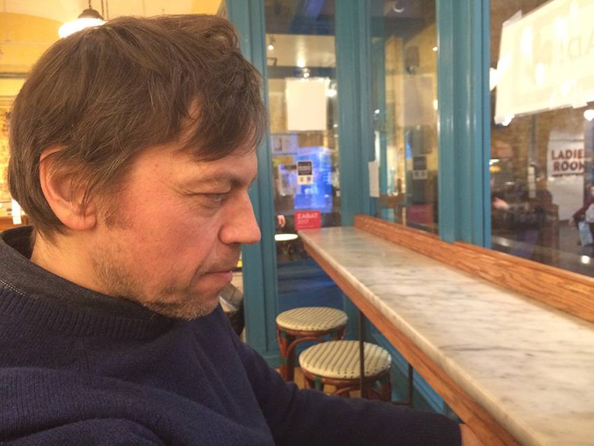 Aidas Bareikis. Žibuoklės Martinaitytės nuotrauka