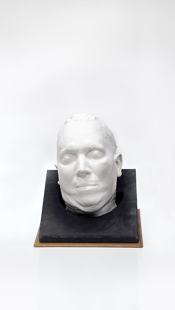 Arturas Valiauga. Pomirtinė kaukė Tilžėje. Sovetsko miesto istorijos muziejus. Kaliningrado sritis, Rusija, 2016