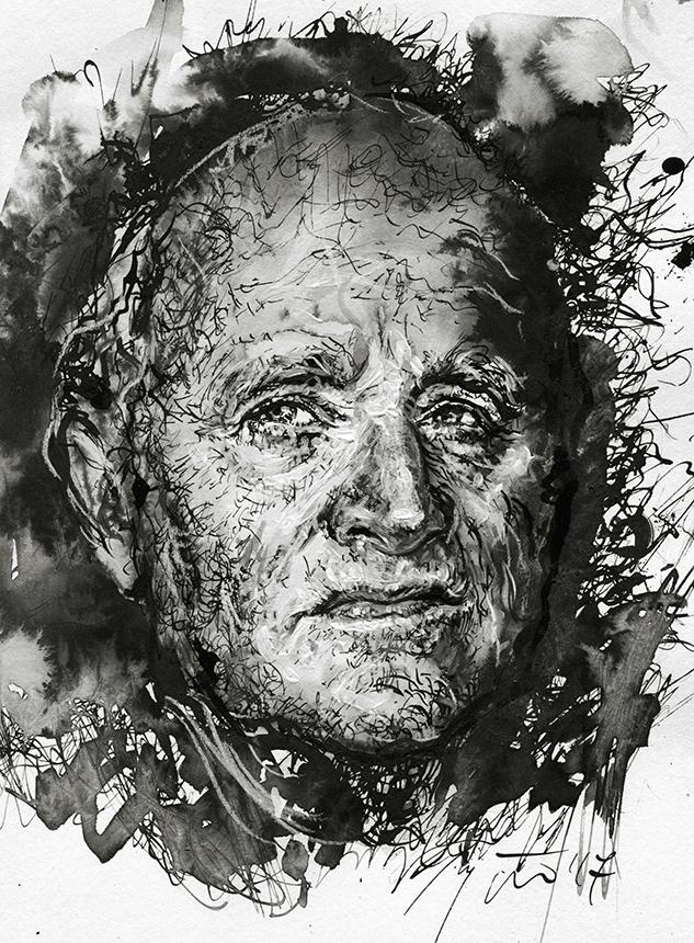 Hermanas Kochas. Ugnės Žilytės piešinys