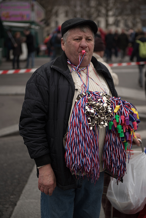 """Roko Morkūno nuotrauka iš ciklo """"Priešrinkiminė Prancūzija"""""""