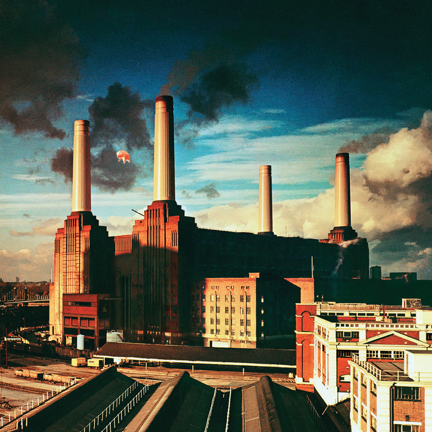 """Pink Floyd"" albumo ""Animals"" (1977) viršelis"