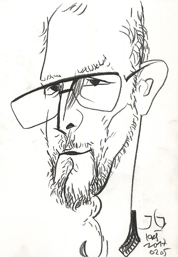 Kazio Kęstučio Šiaulyčio piešinys