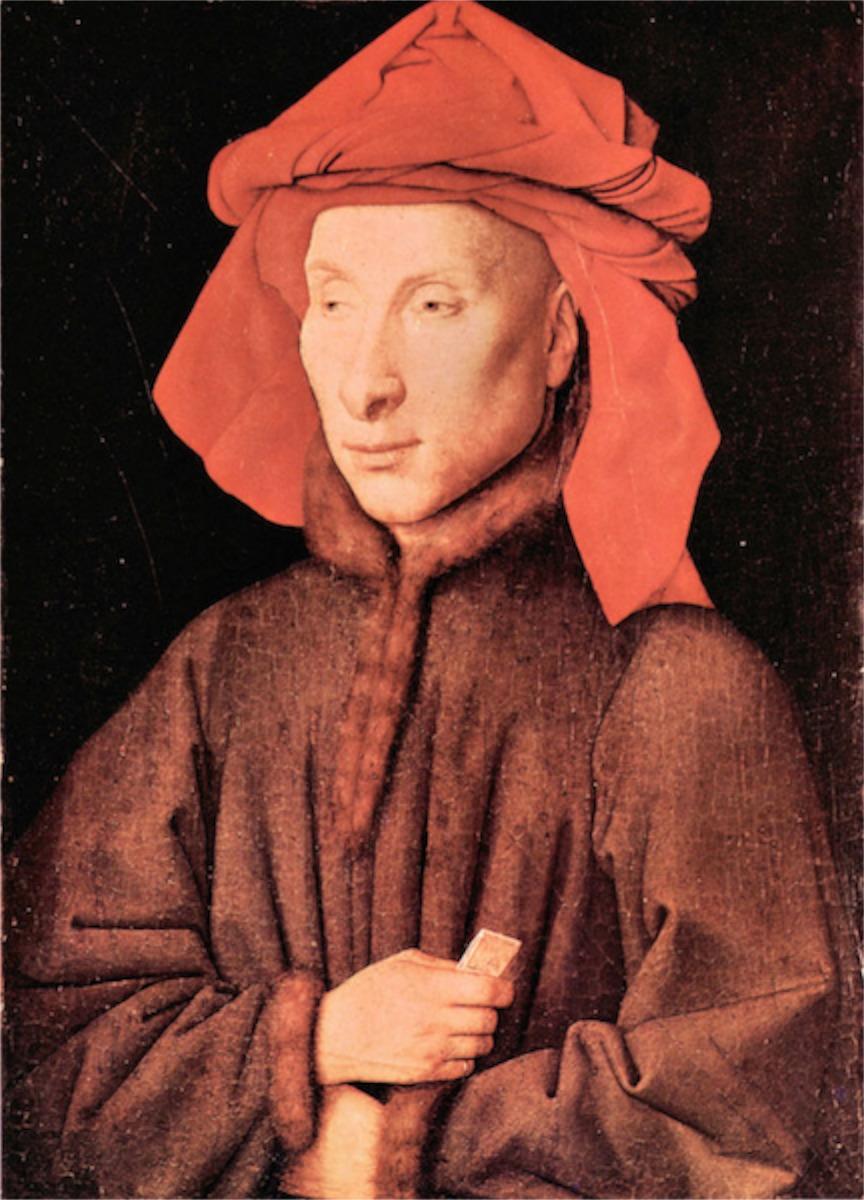 """Jan van Eyck. """"Giovanni'o Arnolfini'o portretas"""""""