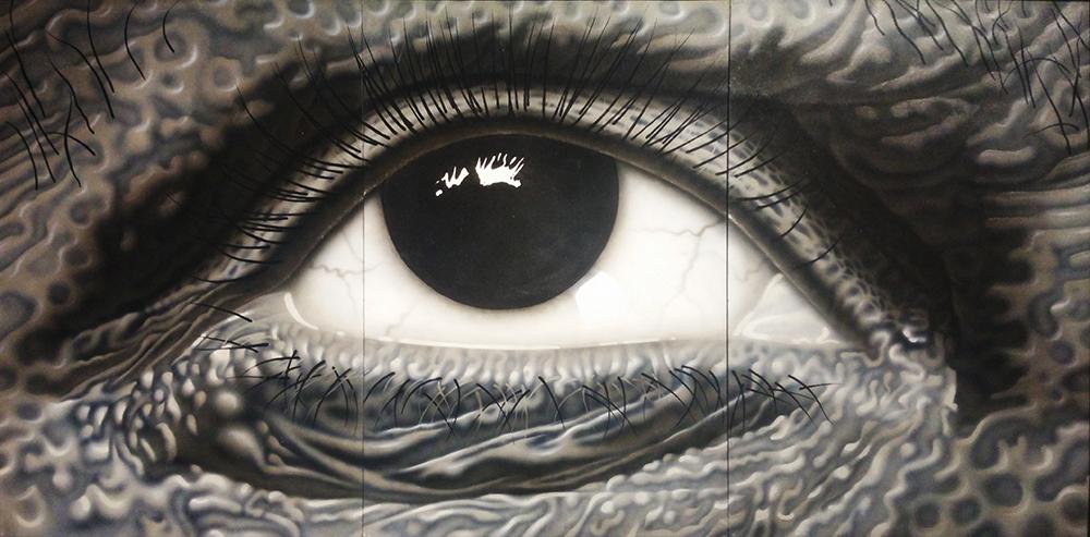 """Maris Argalis. """"Akis"""", 1977. Godos Aksamitauskaitės nuotraukos"""