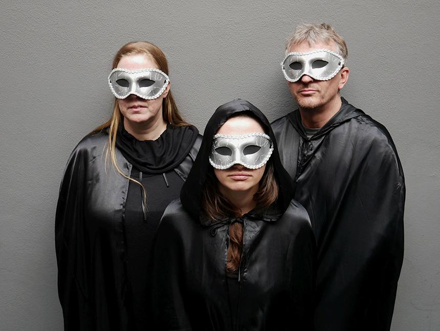 Åsa Nordgren, Rūta Vitkauskaitė ir Jensas Hedmanas. Monikos Krajkos nuotrauka