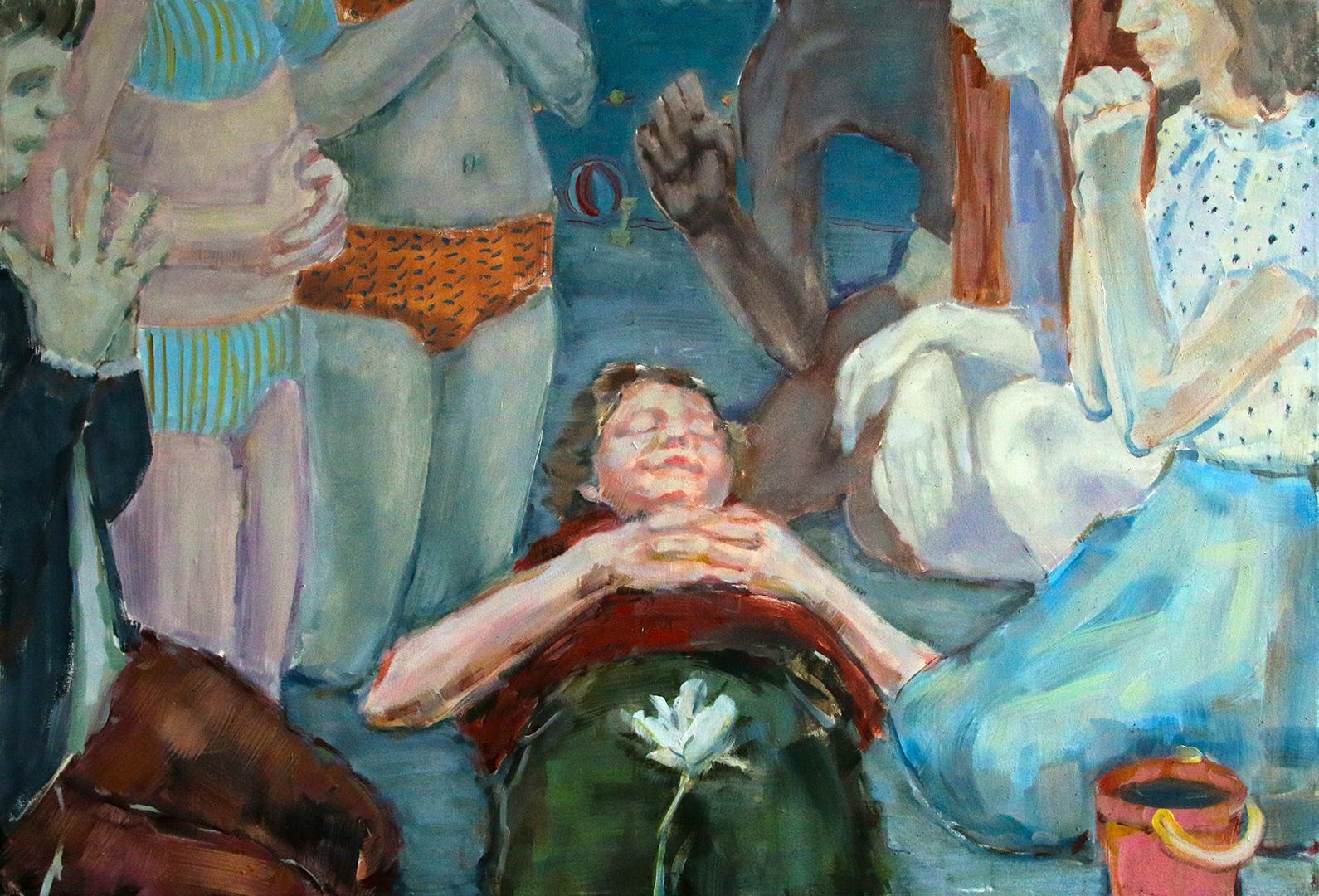 """Eglė Norkutė """"Play dead arba pliaže"""" 2016 m."""