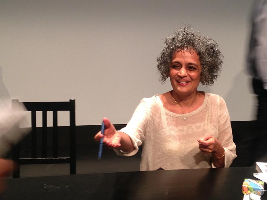 Arundhata Roy. Autorės nuotraukos