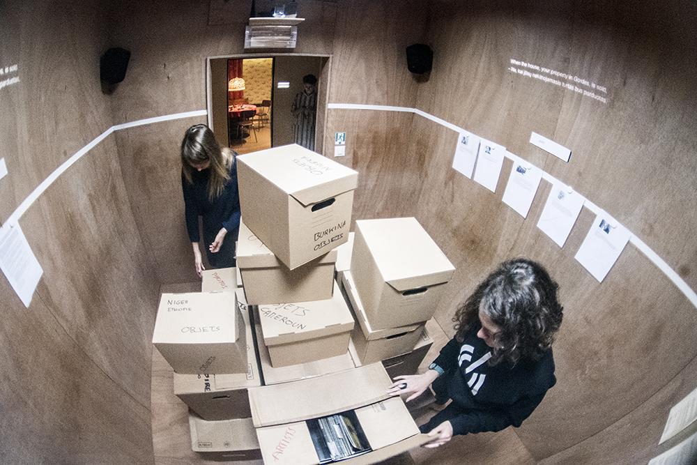 """""""Nachlass, kambariai be žmonių"""". Dmitrijaus Matvejevo nuotrauka"""