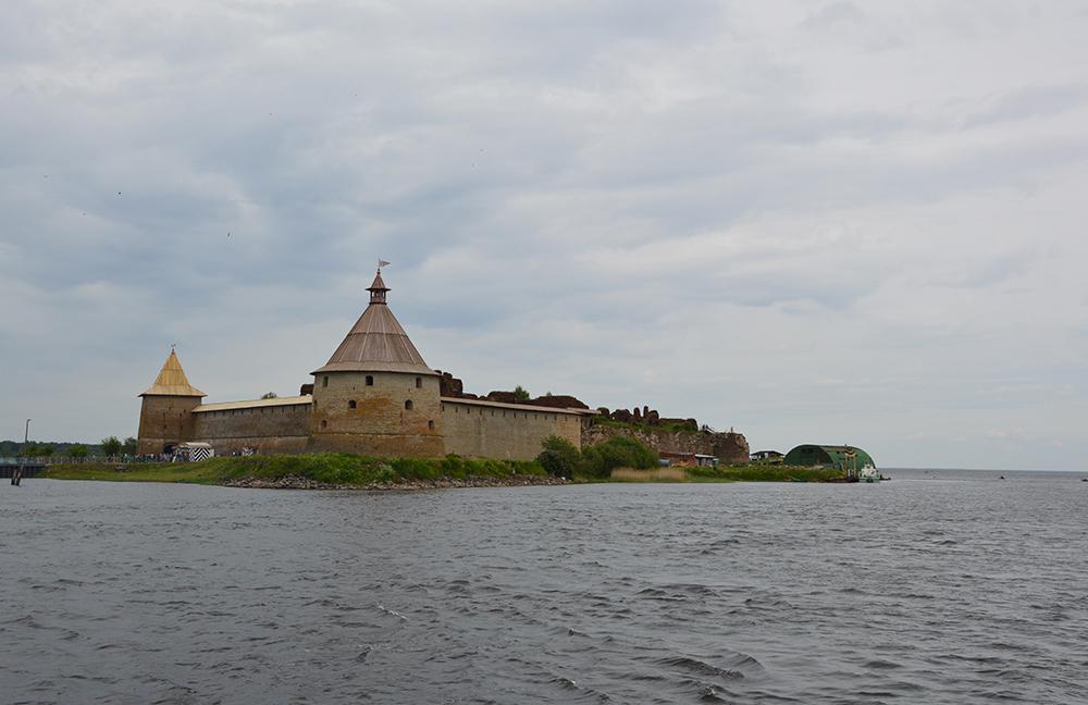 Šliselburgo kalėjimas Ladogos ežero saloje. 2017 m.