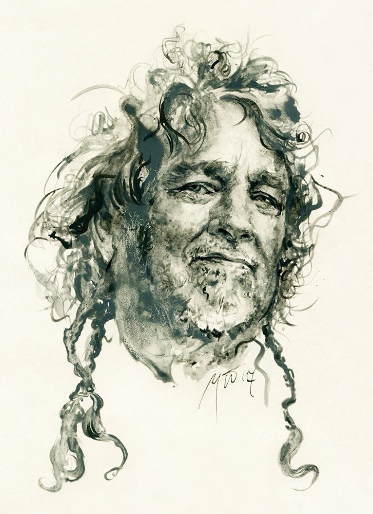 Kerry Shawn Keys. Ugnės Žilytės piešinys
