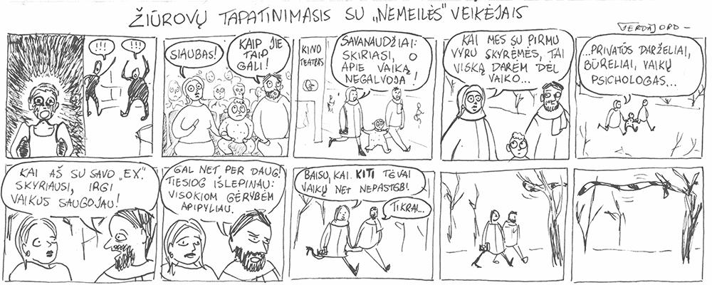 Gerdos Jord komiksai