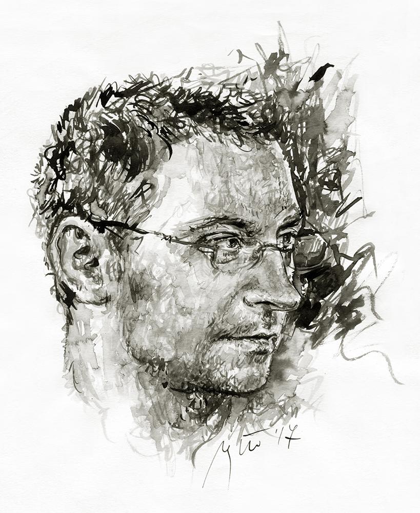 Donatas Petrošius. Ugnės Žilytės piešinys