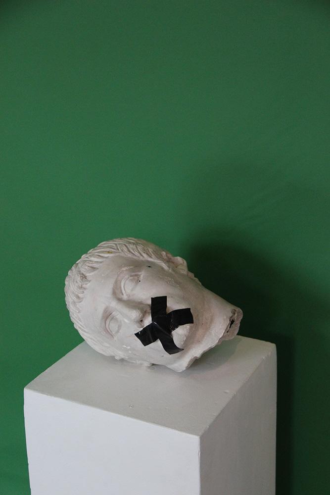 Jurgos Barilaitės parodos BBB fragmentas. gyčio norvilo nuotrauka