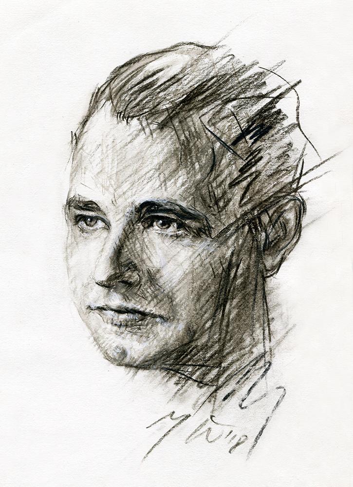 Algimantas Mackus. Ugnės Žilytės piešiniai