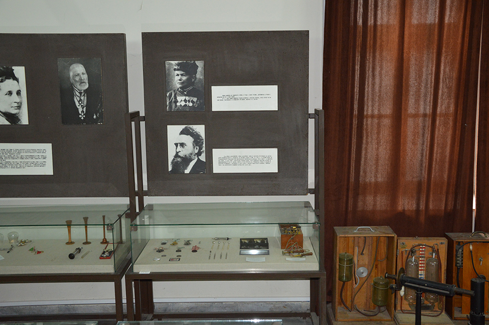 J. Basanavičiui skirta ekspozicijos dalis Varnos medicinos istorijos muziejuje, 2017. V. Girininkienės nuotraukos