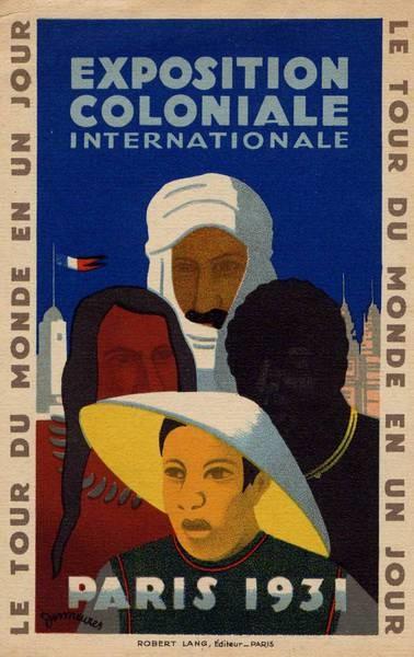 Kolonijų parodos plakatas