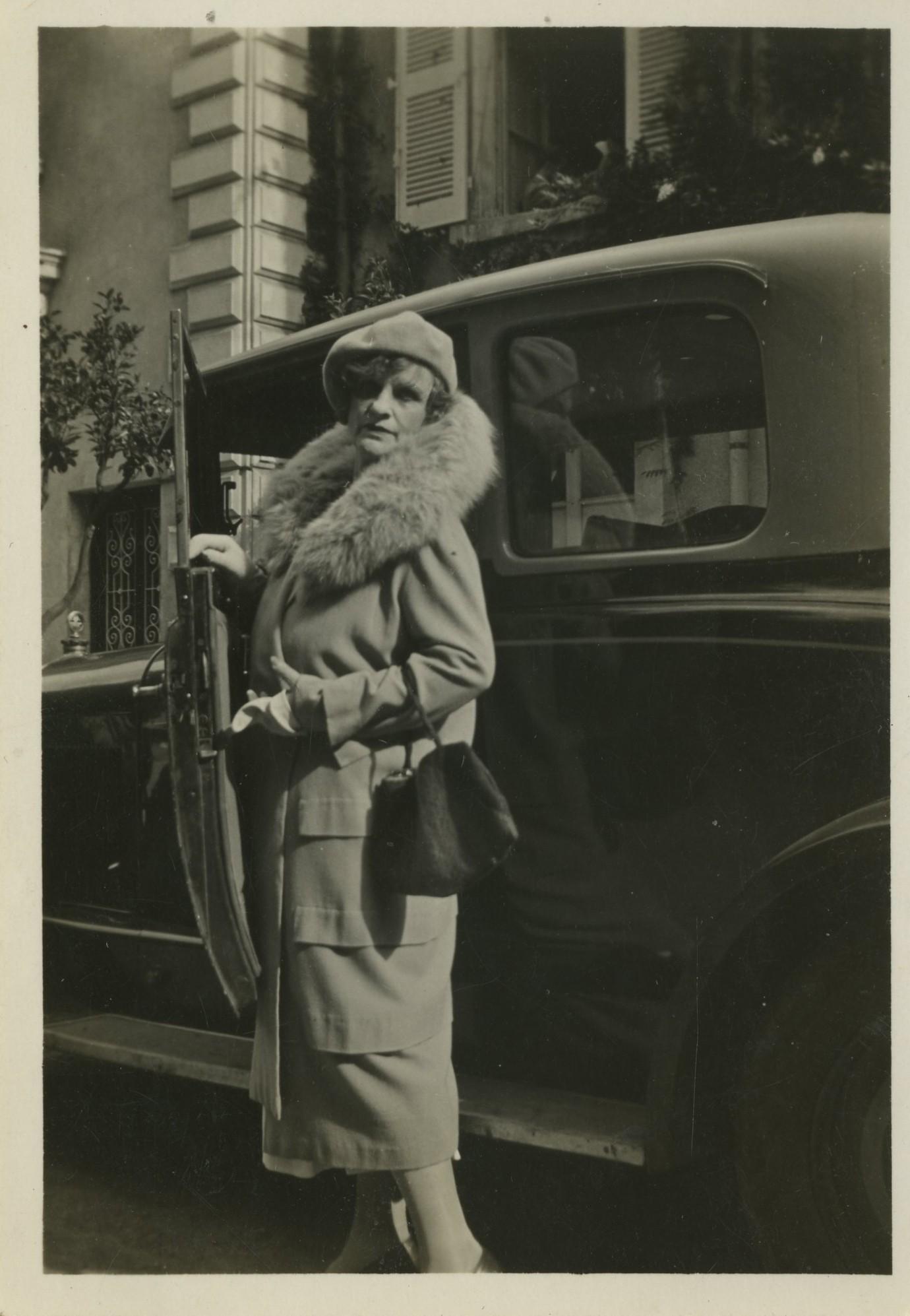 Nadežda Tefi kelionėje iš Maskvos prie Juodosios jūros (1918–1919). Nuotrauka iš pushkinhouse.org