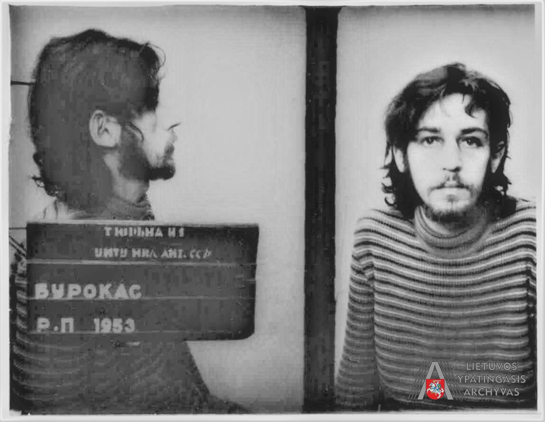 Raimundas (Rimas) Burokas Lukiškių kalėjime. 1979 m. gruodžio 10 d. LYA, f. V-145/40, ap. 1, b. 1263, l. 103-3.