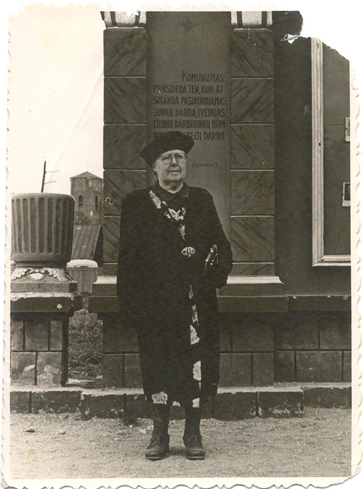 Žoulienė.  Nuotrauka  iš G. Kaukaitės  asmeninio  archyvo