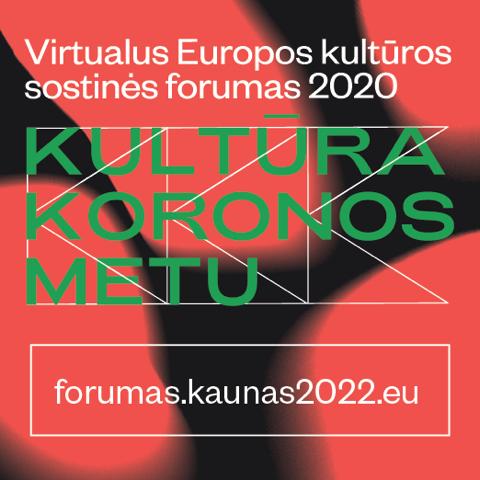 Europos kultūros sostinės forumas 2020