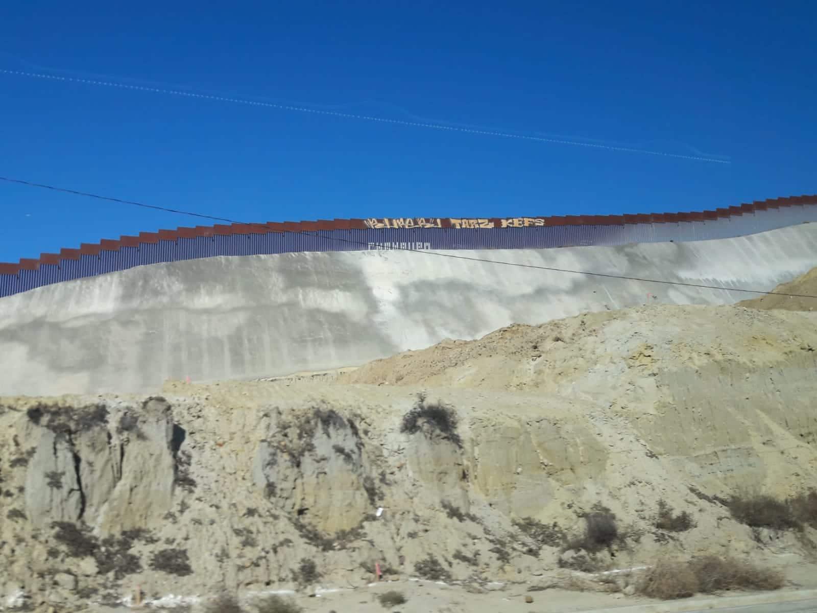 Meksikos ir JAV siena ties Tichuana. Sonios Antinori nuotraukos